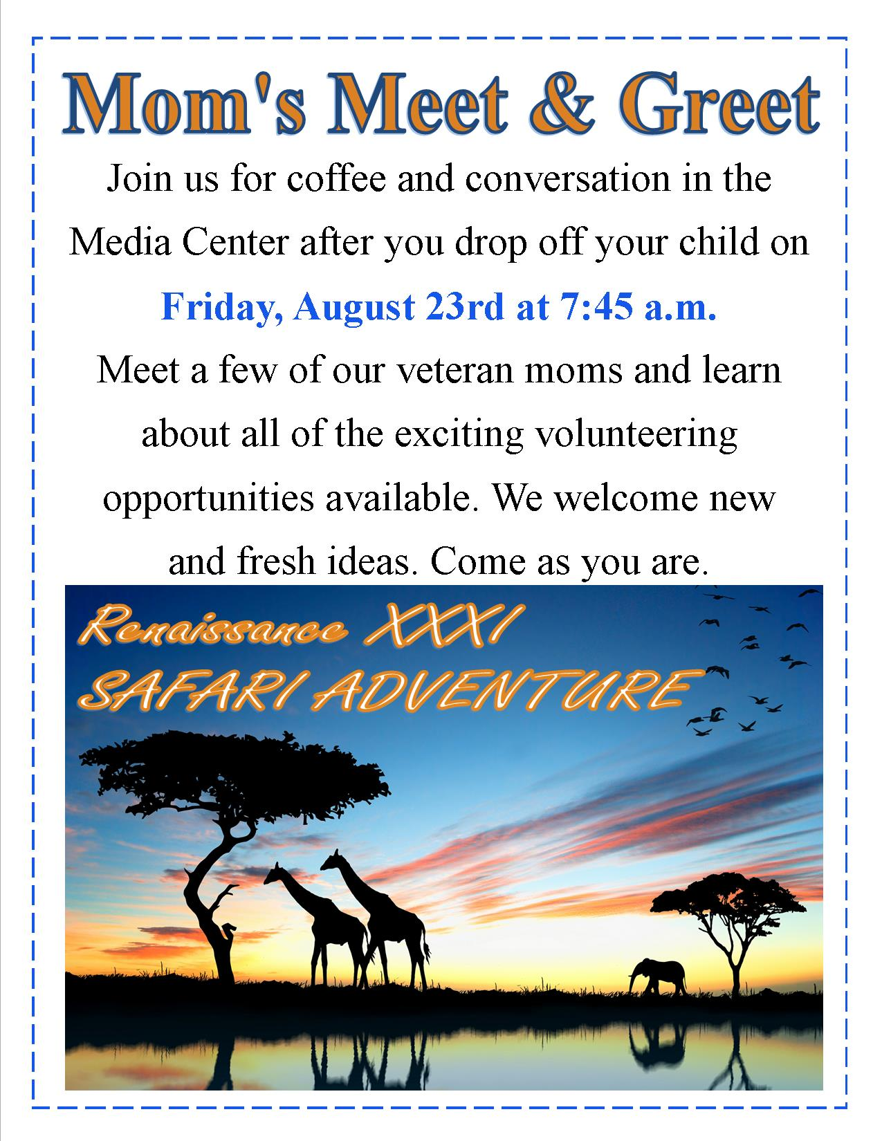 Moms meet and greet flyer santa fe catholic lakeland fl connect with us m4hsunfo